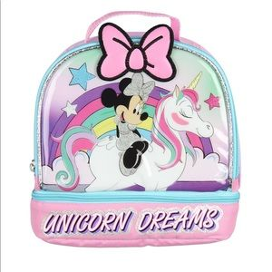 Other - Minnie Mouse unicorn dreams lunch tote!